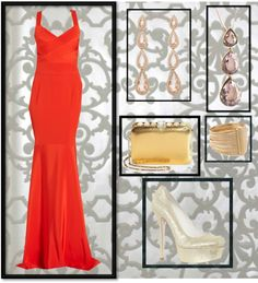 """A night on the Red Carpet"" by maggie-carman on Polyvore"