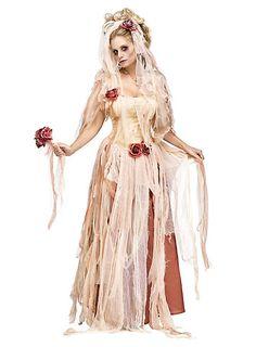 Tote Braut Kostüm #halloween #costume #dress #rose #bride #undead #zombie