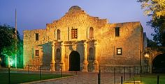 The Alamo, San Antonio, Texas  Originally established in 1718, this Spanish mission in San Antonio was the site of a historic battle for Texan independence and remains a spiritual touchstone in the heart of Texans. Look for the Heritage Tree, a mammoth live oak on the grounds. Murat Taner/Corbis