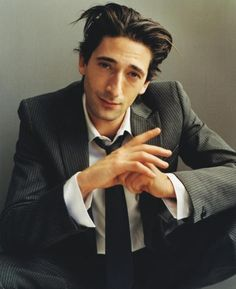 Adrien Brody.  Is acting is amazing but damn he is hot!