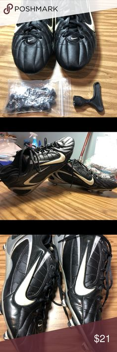1725619c8d12 Nike football cleats size 13 (one season used) Nike football cleats used  for one