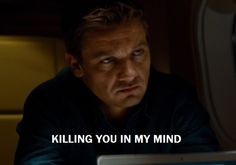He's killing Benji in his mind  mission impossibly ghost protocol