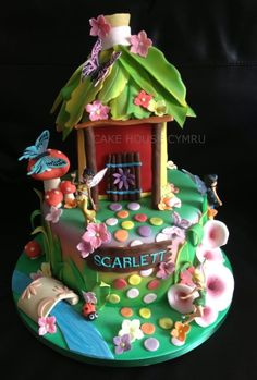 #Tinkerbells House Cake