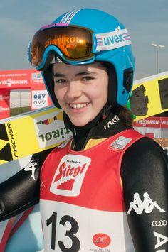 Lara Malsiner.  Ski jumper.