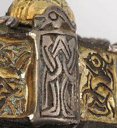 Gotland, box brooch Viking Metal, Viking Art, Viking Jewelry, Metal Jewelry, Viking Knotwork, Vikings, Norse People, King Ragnar, Germanic Tribes