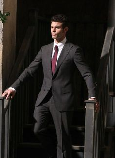 """The Originals -- """"The Battle of New Orleans"""" -- Image Number: -- Pictured: Daniel Gillies as Elijah -- Photo: Quantrell Colbert /The CW -- © 2014 The CW Network, LLC. All rights reserved. Daniel Gillies, Charles Michael Davis, Elijah Vampire Diaries, Vampire Diaries The Originals, Danielle Campbell, Joseph Morgan, Phoebe Tonkin, Claire Holt, Elijah The Originals"""