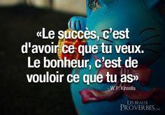 bonheur succès