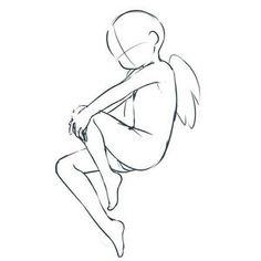 Manga Drawing Tips 불러보았따! Angel Drawing, Drawing Base, Drawing Techniques, Drawing Tips, Hijab Drawing, Art Sketches, Art Drawings, Wie Zeichnet Man Manga, Drawing Templates