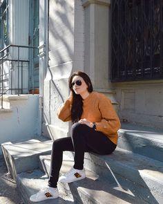 WEBSTA @its_mathilde Trop d'amour pour ces baskets @zara  Vous pouvez encore voir ce look en cliquant sur le lien dans ma barre de description  Zara, Ulzzang, Normcore, Hipster, Baskets, New York, Instagram, Style, Fashion