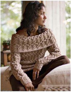 Hermosa, pulóveres femenino