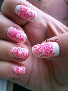 Nav Oriental Themed Nail Stamping Art Tutorial My Nail Art