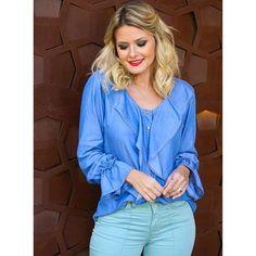 Camisa Jeans - Bebela - Luttiê - Loja Online de Roupas Femininas