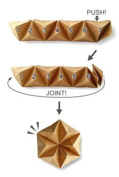 折り紙のおもちゃ | かわいい輸入ラッピングペーパーのお店Sweet Paper Diy Craft Projects, Crafts For Kids, Origami Cube, Tesselations, Geometric Origami, Fabric Origami, Paper Flowers Diy, Diy Interior, Creative Art