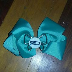 Hairbow Seattle Seahawks handmade never been worn