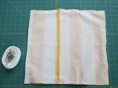 DIY: Simple Envelope Pillow - Momtastic