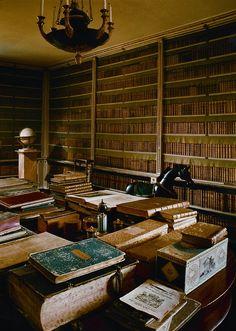 Hans Hammarskiöld, photographer;   castle libraries in Sweden series.