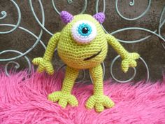 Amigurumi Monsters Inc : Amigurumi monsters free patterns monster guy who crochets