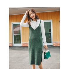 INMAN Winter New Arrival Lace Stand Collar Shirt Knitting Jumpsuit Dress Woman Two-pieces Suits Stand Collar Shirt, Collar Shirts, Jumpsuit Dress, Dress Suits, Dresses, Fashion Marketing, Two Pieces, Fashion Outfits, Womens Fashion