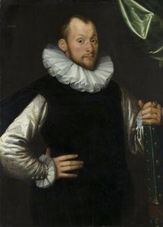 FCBTC / 1587 Gortzius Geldorp - Portrait of a man