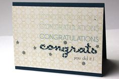 Congratulations Congrats Card