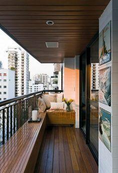 modern balcony design ideas for amazing home decor Narrow Balcony, Small Balcony Design, Small Balcony Decor, Patio Design, Home Design, Balcony Ideas, Balcony Decoration, Design Ideas, Small Patio