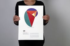 Fictional exhibition posters on Geometry in Nature. #design #golden #ratio #fibonacci