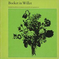 Boeket in Willet Exhibition Catalog, Museum Willet-Holthuysen, Amsterdam, Designed by Jolijn van de Wouw and Wim Crouwel, 1970