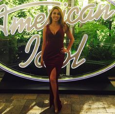 Haley Reinhart Haley Reinhart, Kris Allen, Gorgeous Women, Beautiful, American Idol, Singer, Formal Dresses, Music, Sexy