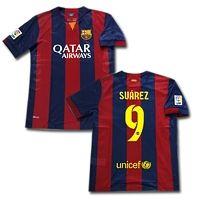 2014 Season Suarez Barcelona Soccer Jerseys Only $34