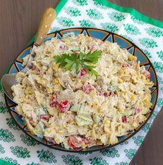 Zeina - krämig pastasallad