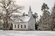 Annie's Chapel. Johnson County Arkansas. December 2013