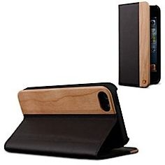 Never compromise with the Marware Milan iPhone 5 wallet case. Let it wrap your device in luxury with its elegant blend of genuine leather and real cherry wood. A built-in wallet adds functional versatility without sacrificing fashion. Stay true to sophistication with the Marware Milan. It's more than a case.