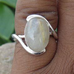 Golden+Rutilated+Quartz+Ring++Oval+Natural+by+JewelryArtisans