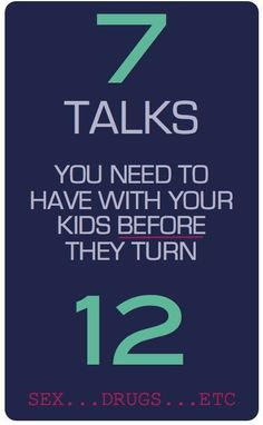 7 Tough Conversations your should have with your kids before they turn 12 (for Christian Parents)