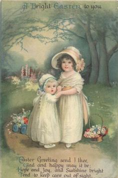 Vintage Easter greeting...