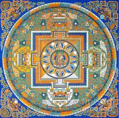 Mandala From Lhasa  -  All my photographs are for sale! Get it in your size and your style on my website http://birgit-moldenhauer.pixels.com/index.html