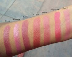 MAC Lipstick Swatches Part 1: 11 Pink Shades