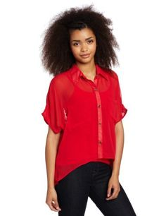 XOXO Juniors Cut Away Lace Layer Shirt XOXO. $32.15. polyester; Lace inserts; Made in China; Hand Wash; High low hem