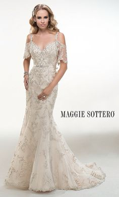 In love with this Maggie Sottero ❤️