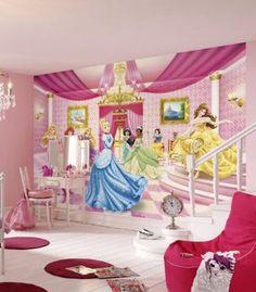 Beautiful Wie im M rchenschloss wird sich Ihr Nachwuchs mit der Fototapete Princess Ballroom zuk nftig im Kinderzimmer f hlen