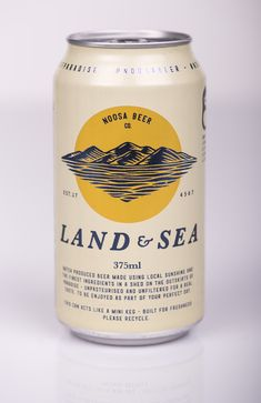 Image result for land and sea brewery packaging
