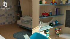 Návrh detskej izby CU-Interiors - Ideas of children room Kids Room, Interiors, Children, Ideas, Design, Young Children, Room Kids, Boys, Child Room