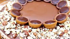 Toffifee-Torte mit Nougat