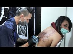 Solo Skin Art Exhibition #3 - Langkah Tattoo Artist Perbaiki Citra Seni Rajah Tubuh - YouTube