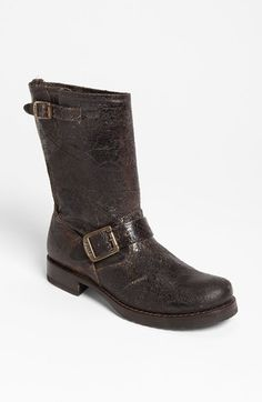 Free shipping and returns on Frye 'Veronica Shortie' Boot at Nordstrom.com. Heavily distressed, crackled leather gives a comfortable pull-on boot a hard-core broken-in vibe.