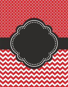 binder cover sheet red - Google Search