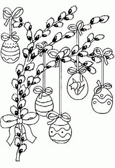 Easter Coloring Pages Easter Coloring Sheets, Spring Coloring Pages, Coloring Easter Eggs, Coloring Book Pages, Easter Art, Easter Crafts, Hand Embroidery Designs, Embroidery Patterns, Easter Colors