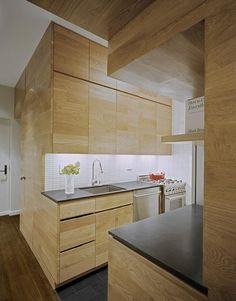 Kitchen cupboards - storage
