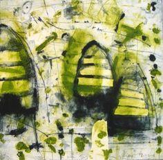 Goodwolf,Nicolas  beehive III  etching  Image Size: 59 x 59    Print Year: 2008  Edition Length: 12