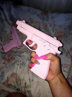 Pink Nails & Pink Guns